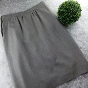 Pendleton Vintage Virgin Wool Midi Skirt